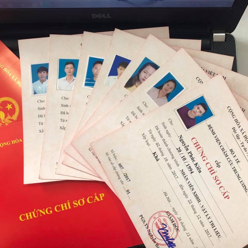 Tuyen Sinh chung chi vat ly tri lieu Ở BÌNH DƯƠNG
