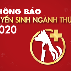 Thông báo tuyển sinh ngành thú y năm học 2020